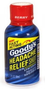 image relating to Goodys Printable Coupons identify Goodys Stress Reduction Pics $1.73 at Walmart