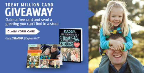 Treat is giving away 1 million custom greeting cards