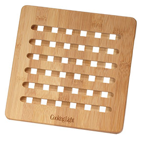 Cooking Light bamboo trivet