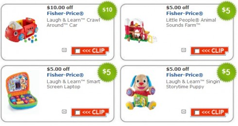 Fisher Price Coupons & Promo Codes