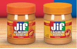 Jif Cashew or Almond Butter $4 98 at Walmart - Deal Seeking Mom
