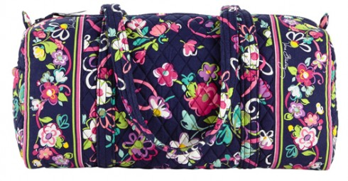 Vera Bradley FREE  69 Small Duffel w   140 Purchase (3 Days Only ... a1fbd895c8766