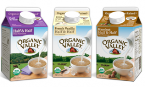 organic valley creamer coupon