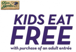 Free Sample Roundup Kids Eat Free At Olive Garden Custom