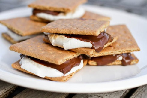 Anytime Indoor S'mores Recipe