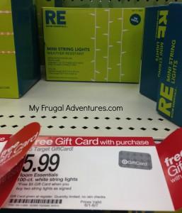 Room Essentials Lights $2.89 at Target