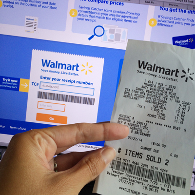 Walmart rolls out savings catcher on 8 4 save up to 600 per year