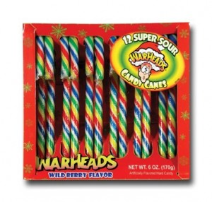 Warheads Candy Canes 1 At Walmart