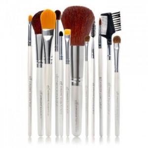 elf cosmetics 12pc brush set 9  free shipping  deal