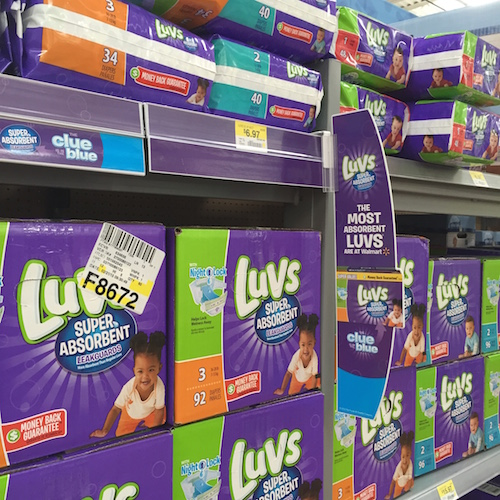 photo about Printable Luvs Coupons named Fresh new $1.50 off Luvs Printable Coupon + Luvs Tremendous Absorbent