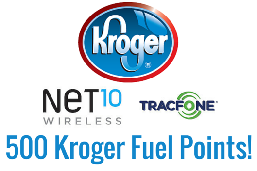 Get 500 Fuel Points at Kroger With Prepaid Wireless Card