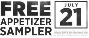 Freebie Friday: Applebee's, Premier Protein, Scotties + More!