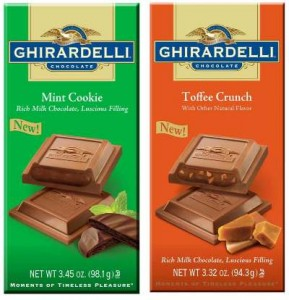 image about Ghiradelli Printable Coupons referred to as Ghirardelli Chocolate Bars $1.88 at Walmart