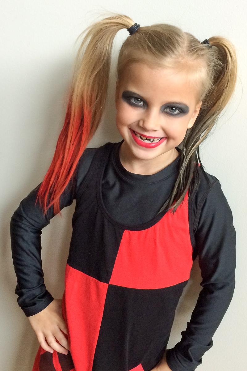 Diy Harley Quinn Halloween Costume For Girls Deal Seeking Mom