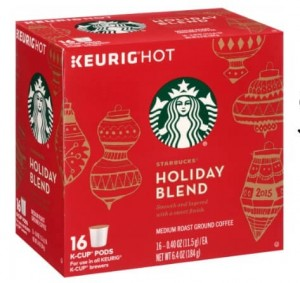 photograph about K Cup Coupons Printable named Starbucks Getaway K-Cups $2.41 at Walgreens
