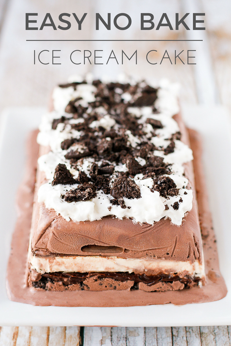 Tom Thumb Ice Cream Cake