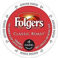 Folgers Classic Roast Coffee Keurig K Cups 0 50 Each