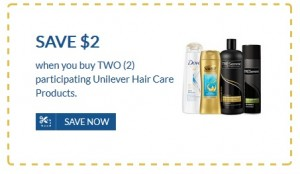 photograph regarding Unilever Printable Coupons called Artful Hair Treatment Contemporary Printable Coupon