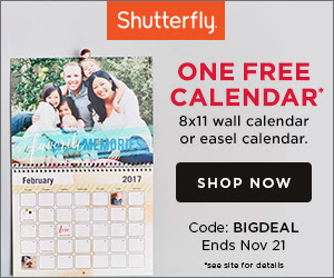 custom calendar free from shutterfly
