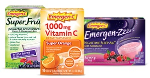 picture about Emergen C Coupon Printable named Emergen-C Vitamin Consume Packets No cost at Aim