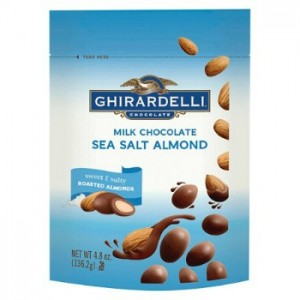 graphic relating to Ghirardelli Printable Coupon named Ghirardelli Chocolate Protected Almonds $2 at Concentrate
