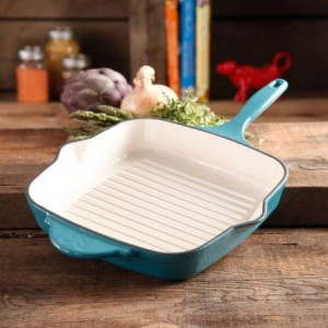 Pioneer Woman Cast Iron Grill Pan 29 98