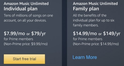 Amazon Music 20 Credit On Family Plan Deal Seeking Mom