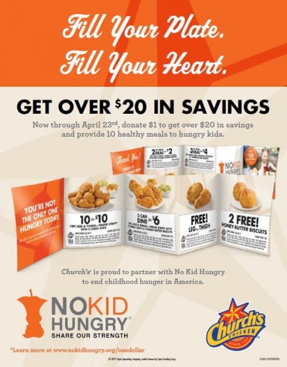 ChurchS Chicken New Coupon Booklet