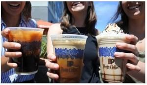 Peets Coffee FREE Beverage