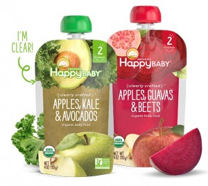 Happy Baby Organic Baby Food Pouches 0 81 At Walmart