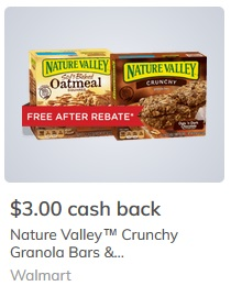 graphic relating to Nature Valley Printable Coupons named Mother nature Valley Granola Bars $1.30 at Walmart