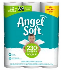Angel Soft Toilet Paper In Stock