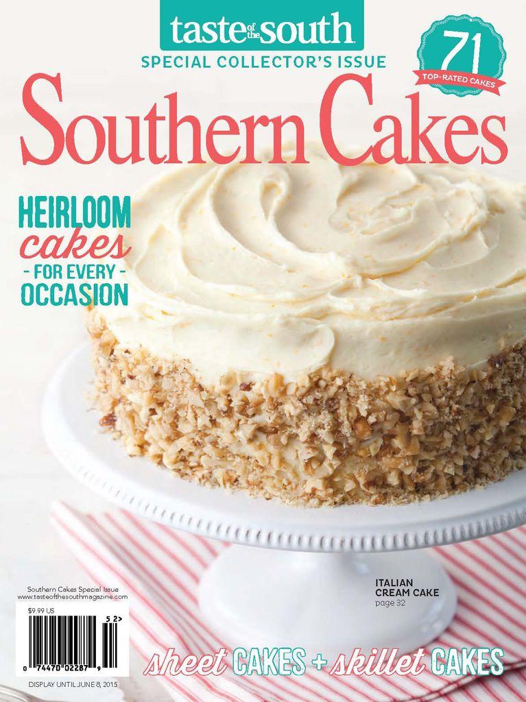 RARO! Taste Of The South Magazine por US $ 14,99 por ano! 5