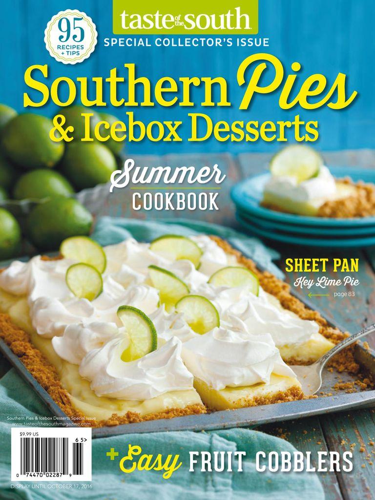 RARO! Taste Of The South Magazine por US $ 14,99 por ano! 9