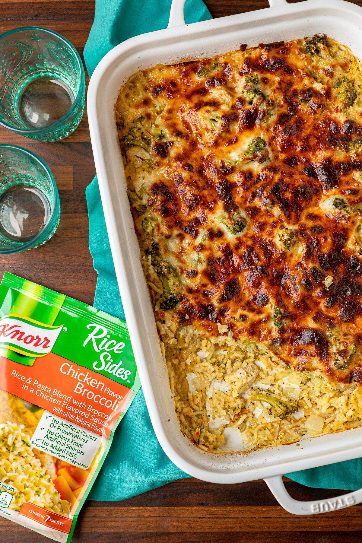 Broccoli Rice Cheese and Chicken Casserole Recipe