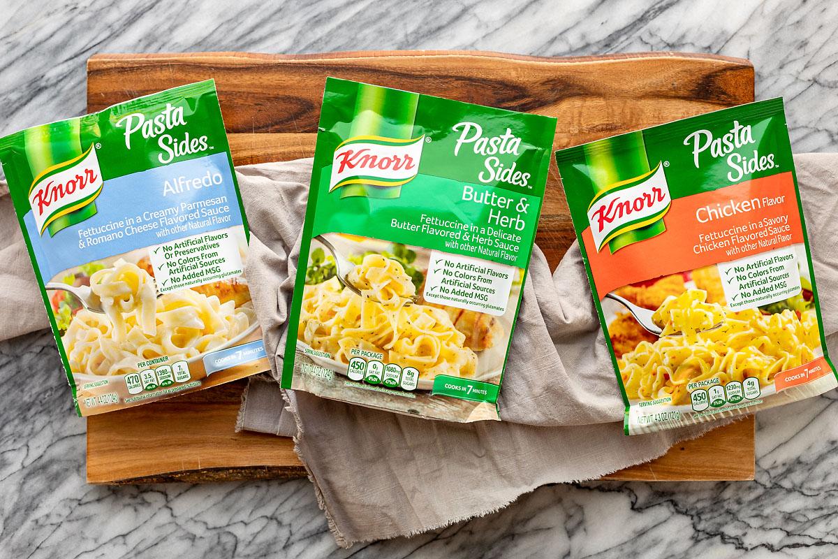 Knorr Pasta Sides for Turkey Noodle Casserole