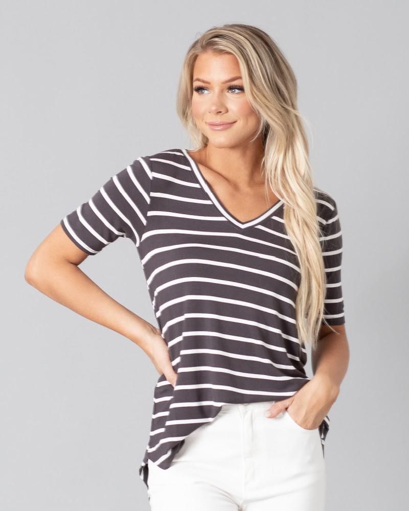 Striped Jagger Tee