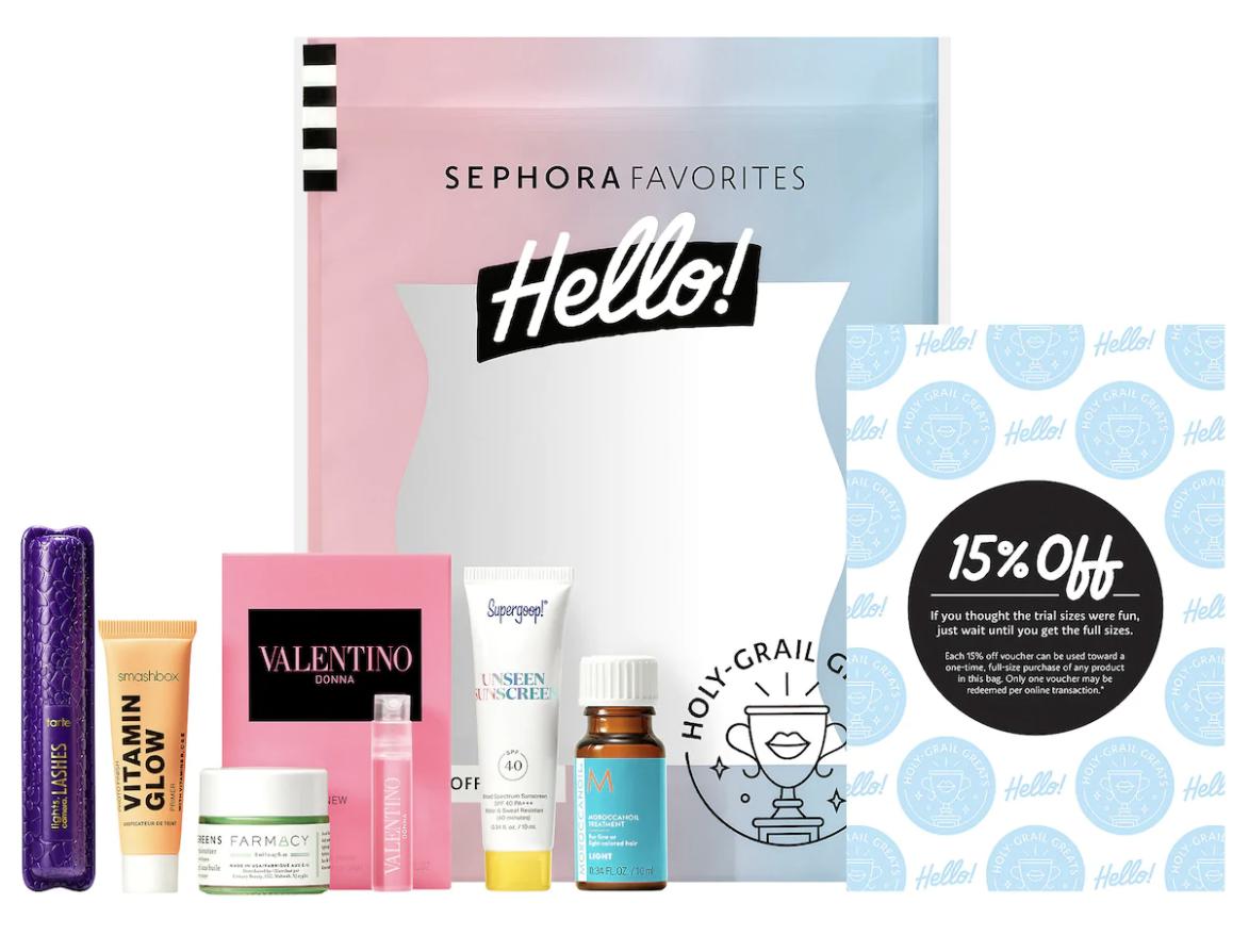 Sephora Hello Sample Packs
