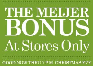 meijer-bonus