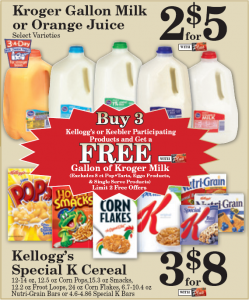 Kroger Milk http://dealseekingmom.com/kroger-deal-free-milk-with-kelloggs-or-keebler-purchase/