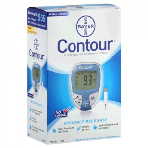 Free Bayer Contour Glucose Meter
