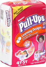 Huggies Pull-Ups Sample