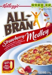 Kellogg's All Bran Sample