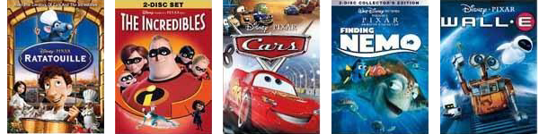 Target Disney Pixar Movies Deal