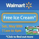 Walmart Free Ice Cream