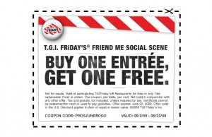 TGI Fridays Coupon Codes, Printable coupons, and Promo Codes