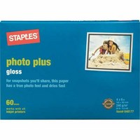$1 Photo Paper at Staples