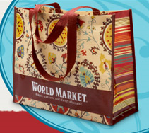 Free Shopping Bag at World Market