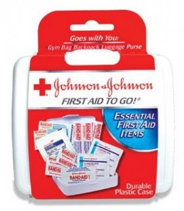 Johnson & Johnson First Aid To Go Money Maker