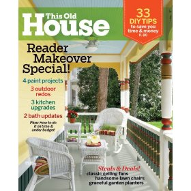 This Old House Magazine Subscription $5